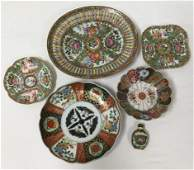 ASSORTED CHINESE & JAPANESE PORCELAIN WARE 6 PCS