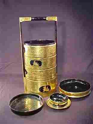 ORIENTAL BLACK GOLD RICE STEAMER