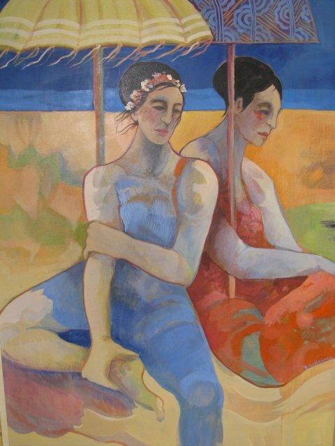 607: BARBARA GALLAGHER - UNTITLED (ON THE BEACH)