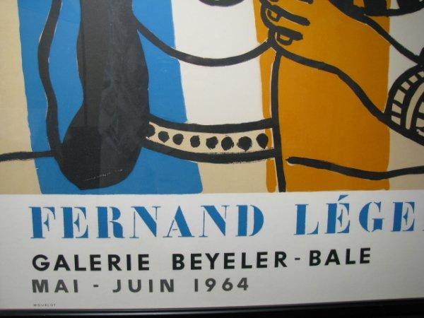 670: MOURLOT FERNAND LEGER LITHOGRAPH POSTER 1964 - 3