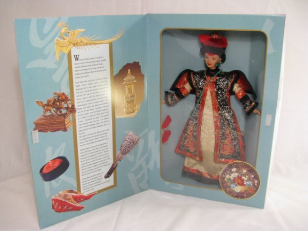 7: 1996 BARBIE GREAT ERAS COLLECTION CHINESE EMPRESS