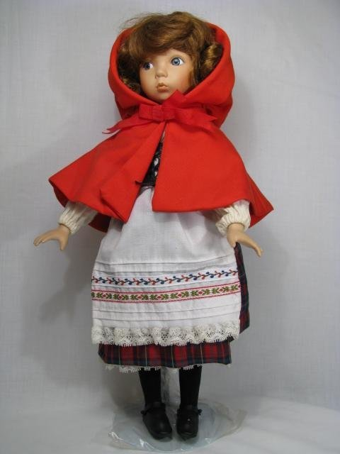"""24: KNOWLES DIANNA EFFNER """"LITTLE RED RIDING HOOD"""" DOLL"""