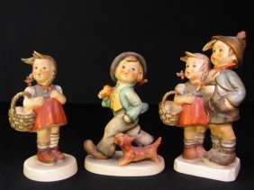 THREE M.I. HUMMEL PORCELAIN FIGURINES