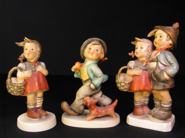 211: THREE M.I. HUMMEL PORCELAIN FIGURINES