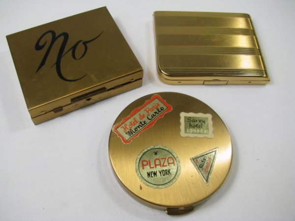 224: VINTAGE COMPACTS NO YES, ELGIN, AROUND THE WORLD 3