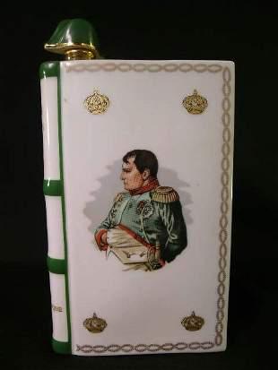 CAMUS NAPOLEON LIMOGES PORCELAIN COGNAC BOTTLE