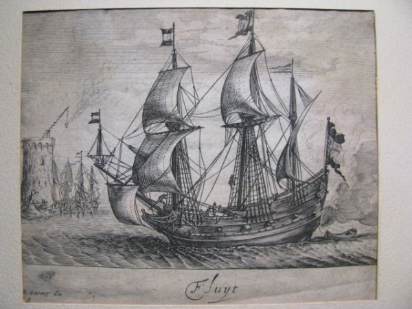 407: FOUR LATE 18TH C. STEEL ENGRAVINGS OF SHIPS