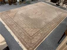 LARGE PERSIAN HAND KNOTTED WOOL AREA RUG 10 X 14