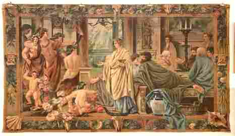 ANSELM FRIEDRICH FEUERBACH PAINTING ON TAPESTRY