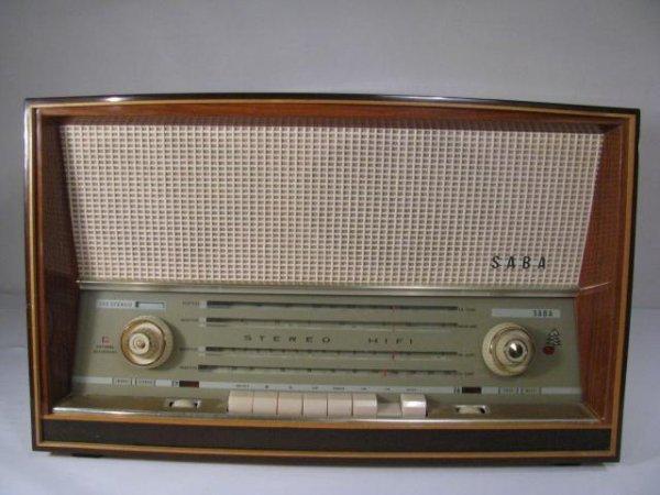 1: SABA TUBE RADIO AM-FM, SHORT WAVE & MARINE RADIO