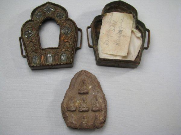 418: TIBETAN GAU SHRINE PRAYER BOX - 2