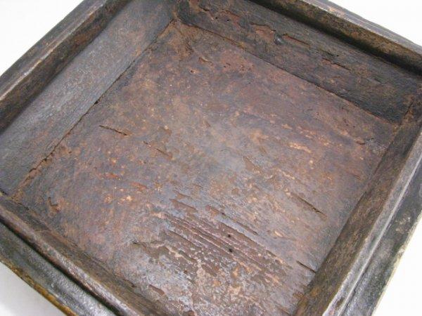 900: LG 19TH CENTURY CHINESE PAINTED WOOD BOX - 5