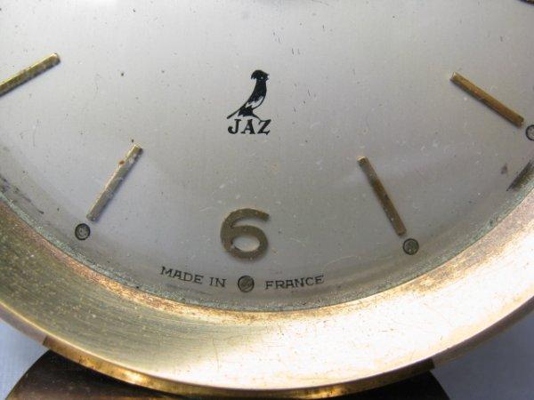 911: THREE FRENCH ALARM CLOCKS ART DECO DEP & JAZ - 2