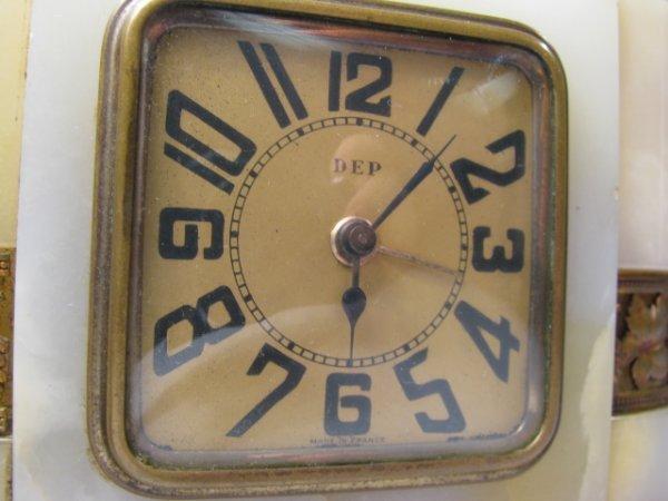 911: THREE FRENCH ALARM CLOCKS ART DECO DEP & JAZ - 7