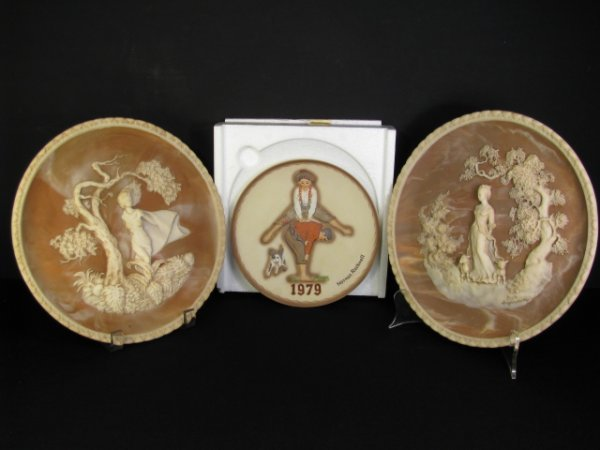 923: GAYLE BRIGHT APPLEBY & ROCKWELL COLLECTOR PLATES 3