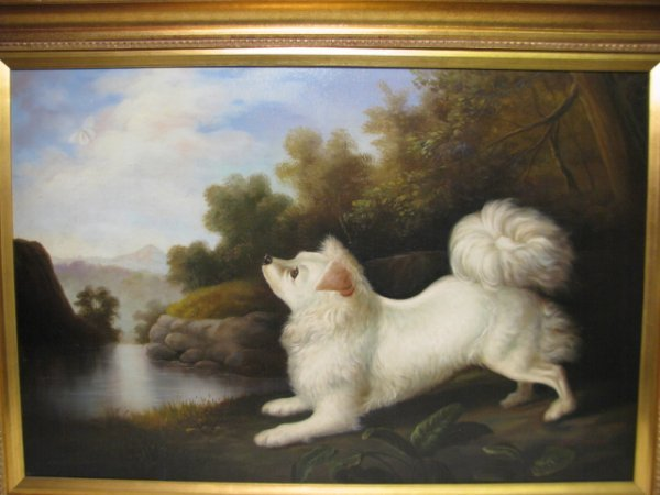"1295: PAINTING: JOHN GRAY ""DOG IN A LANDSCAPE"" - 2"