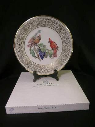 LENOX BOEHM BIRD CARDINAL PLATE 1976