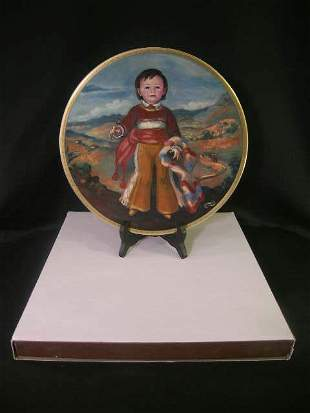 PICKARD CHILDREN OF MEXICO SERIES PLATES MIGUEL