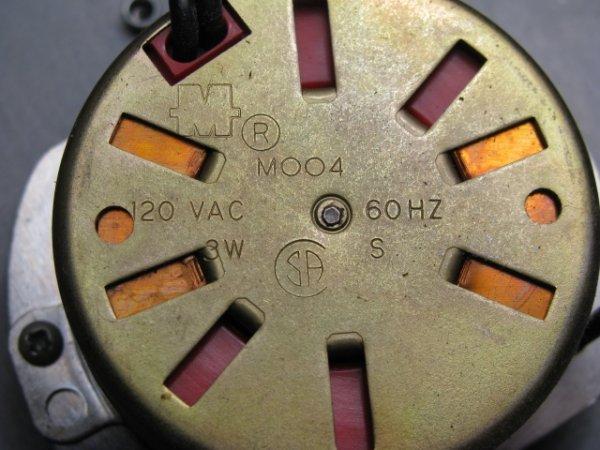 19: MID CENTURY ASTROLOGICAL CLOCK FAIRFIELD CLOCK - 7