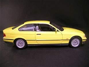 U T MODELS CAR BMW 3 SERIES YELLOW
