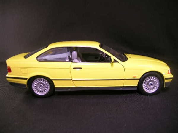 760: U T MODELS CAR BMW 3 SERIES YELLOW