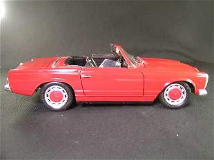 TECHNO GIODI 1968 MERCEDES BENZ 280 SL RED MODEL C