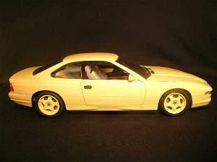1991 BMW 850 CSI REVELL AG MODEL CAR YELLOW