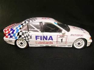 FINA AUTOSPORT U T MODEL CAR BMW 3 SERIES WHITE