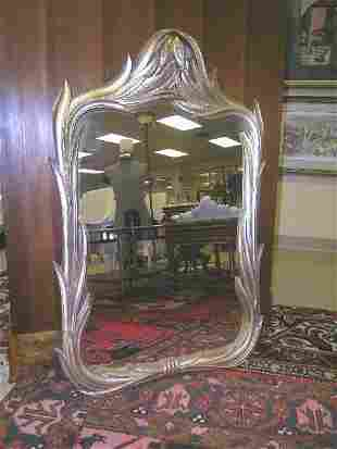 GILT CALLA LILLY STYLE WOODEN MIRROR WALL