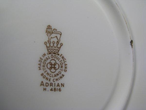 181: ROYAL DOULTON CHINA DINNERWARE ADRIAN 88 pieces - 10