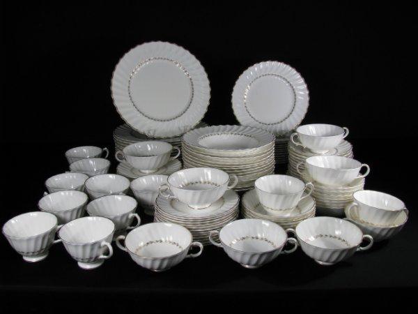 181: ROYAL DOULTON CHINA DINNERWARE ADRIAN 88 pieces