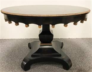 BESPOKE REGENCY STYLE CENTER TABLE
