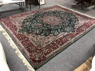 HAND KNOTTED PERSIAN WOOL RUG 9' X 12'