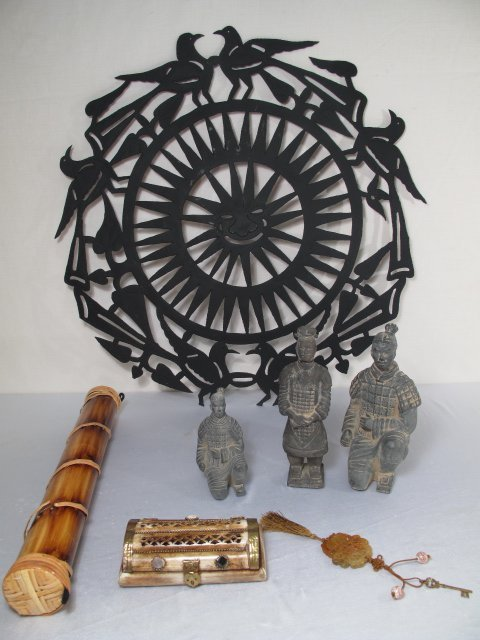 24: ETHNIC OBJECTS BURIAL FIGURES IRON SCULPTURE 7 PC