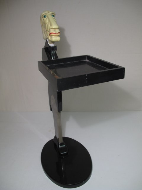 29: NOVELTY CONTEMPORARY SERVING BUTLER STAND LATE - 2