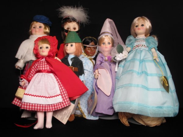 15: SEVEN EFFANBEE VINTAGE DOLLS MOST WITH TAGS