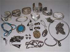 106: CINI STERLING SILVER BRACELET & VARIOUS OTHERS
