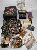 411 VINTAGE  OTHER LADIES ITEMS PURSES BOXES PERFUMES