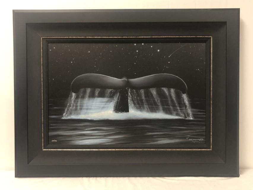 ROBERT WYLAND L/E GICLEE ON CANVAS: REACH FOR STAR