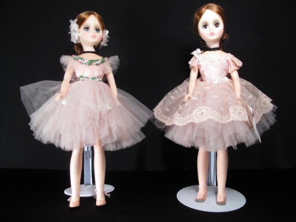 101: TWO MADAME ALEXANDER DOLLS ELISE AND BALLERINA