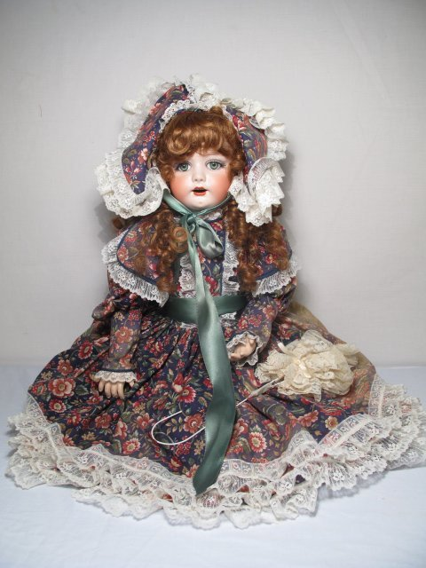 "4: SIMON AND HALBIG BISQUE PORCELAIN ""RUTH"" 29"" TALL"