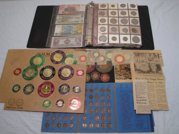 20: COLLECTION COINS BANK NOTES MEXICO CANADA EUROPE