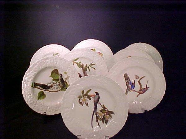 405A: ALFRED MEAKIN BIRD AMERICA PLATES 8 PC