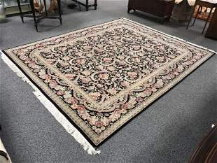 PERSIAN HAND KNOTTED WOOL RUG 8' X 10'