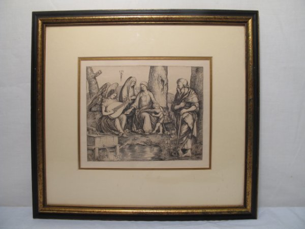 11: AFTER DE BARBARI ETCHING OF THE HOLY FAMILY