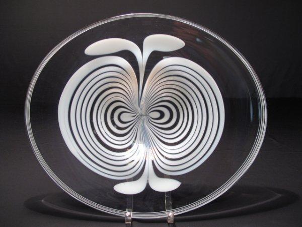 5: MID CENTURY MURANO ART GLASS CENTER BOWL