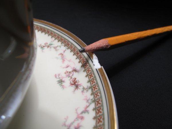 12: HAVILAND LIMOGES DINNERWARE YALE PATTERN 115pc - 7