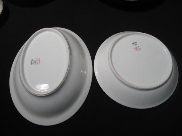 12: HAVILAND LIMOGES DINNERWARE YALE PATTERN 115pc - 9