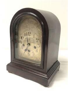 ANTIQUE WINTERHALDER & HOFMEIER MANTEL CLOCK