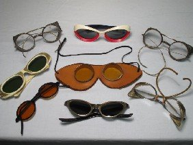 ANTIQUE & VINTAGE EYEGLASSES AND GOGGLES